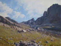 Cuillin Ridge, Isle of Skye - Oil - 20 x 16
